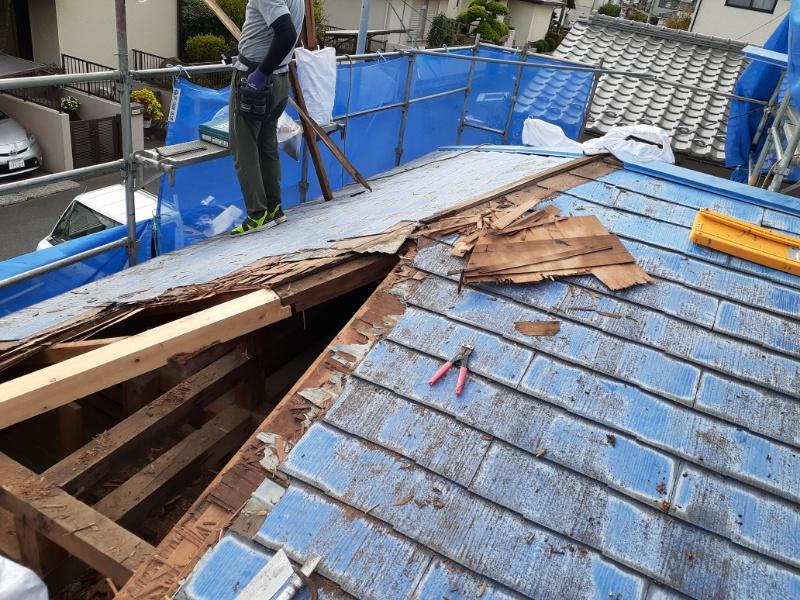 台風被害復旧工事