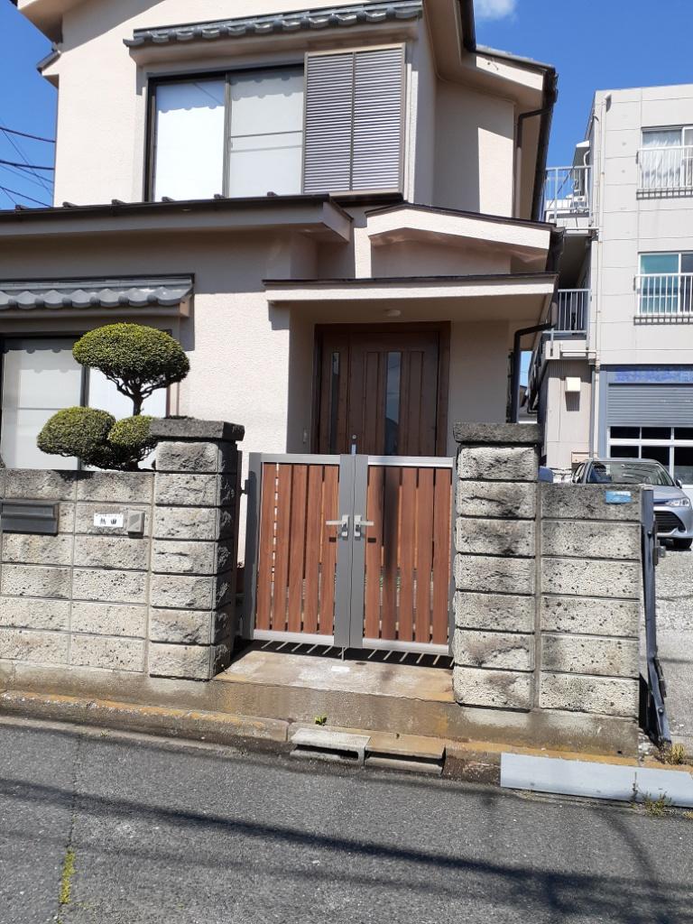 玄関ドア・開き門扉改修(A様)