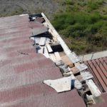 屋根被害箇所